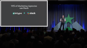 95% of marketing agencies use Slack