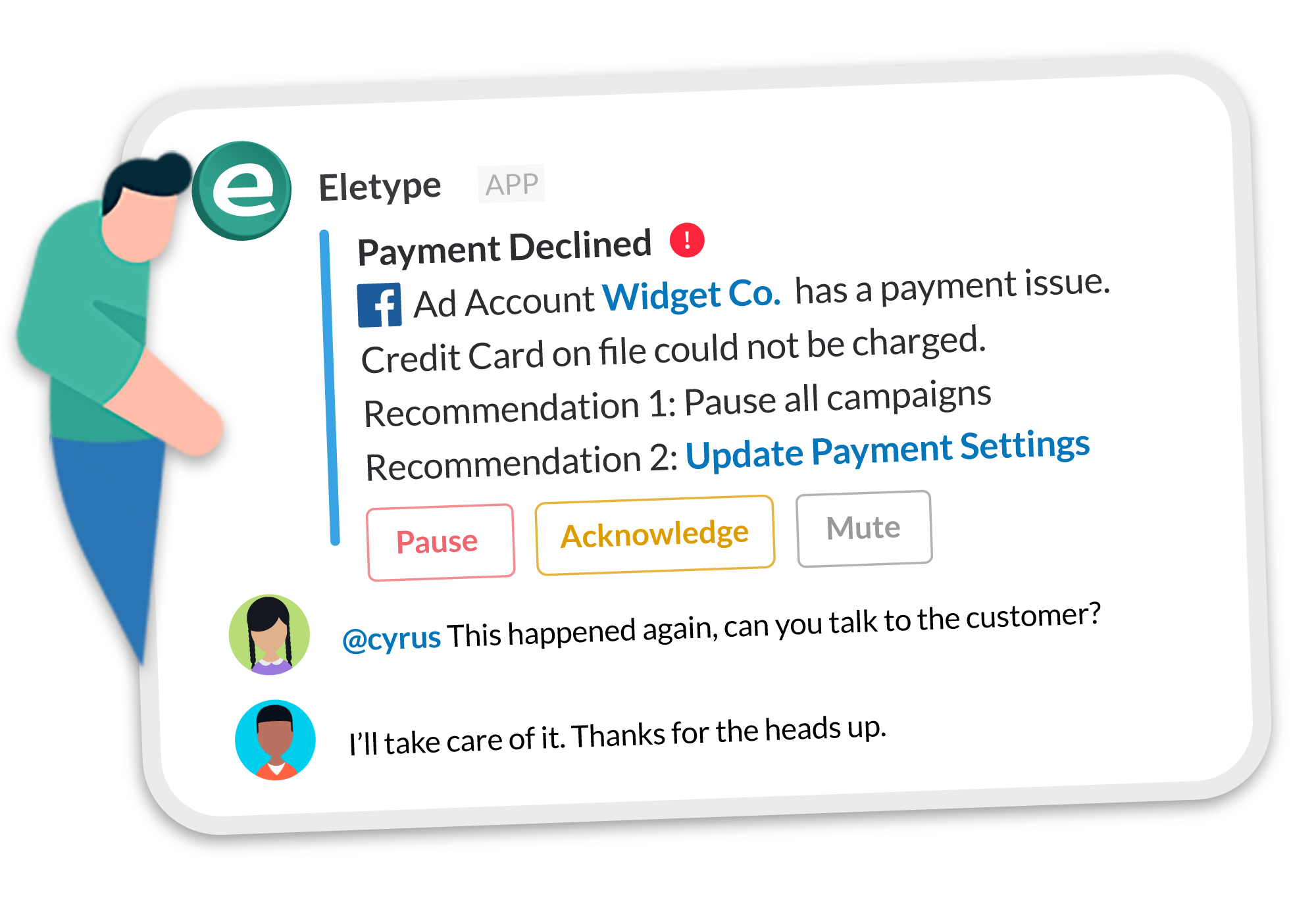 Facebook Payment Declined