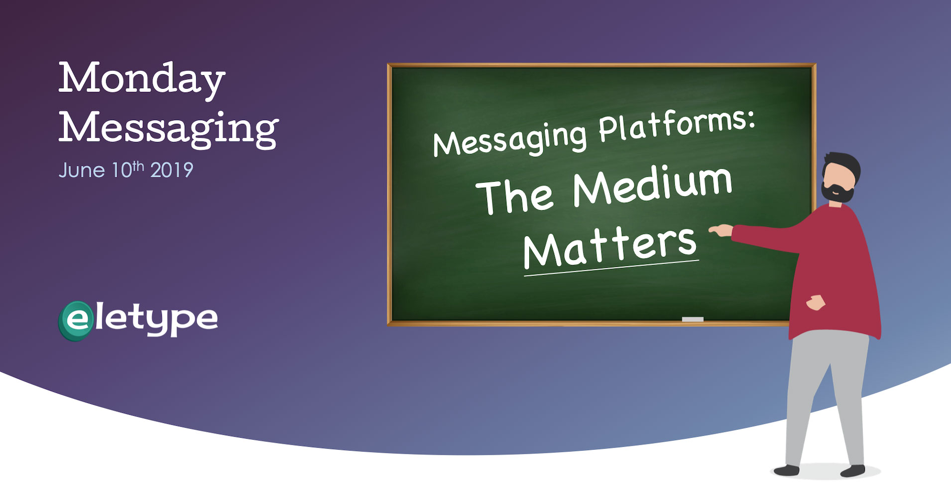 Messaging Platforms - The Medium Matters